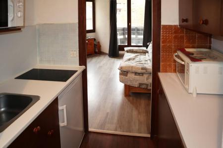 Holiday in mountain resort Studio sleeping corner 4 people (112) - Résidence les Gradins - Les Orres - Kitchenette