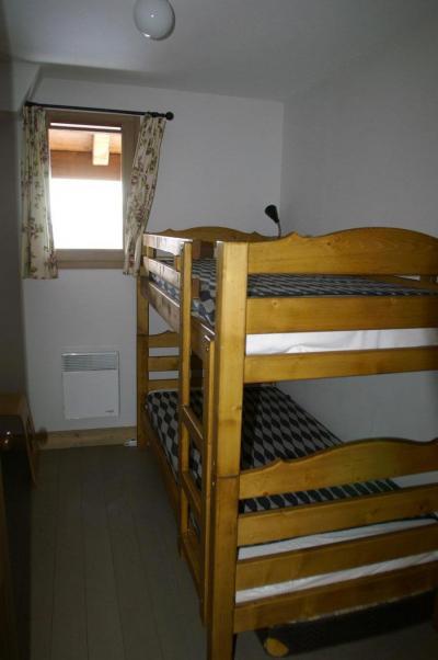 Vacances en montagne Appartement 3 pièces cabine 6-8 personnes - Résidence les Granges des 7 Laux - Les 7 Laux - Lits superposés