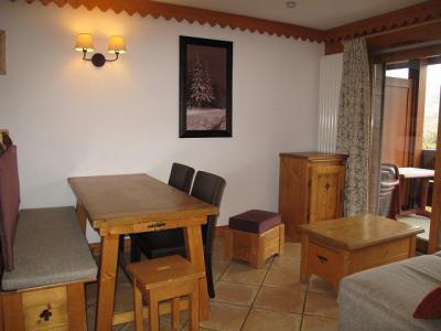 Vacances en montagne Appartement 3 pièces 6 personnes (A24) - Résidence les Hauts Bois - La Plagne - Table