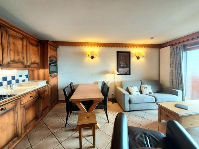 Vacances en montagne Appartement 3 pièces 6 personnes (A38) - Résidence les Hauts Bois - La Plagne - Salle à manger