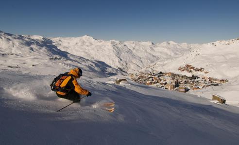Holiday in mountain resort Studio 2 people (503) - Résidence les Hauts de la Vanoise - Val Thorens