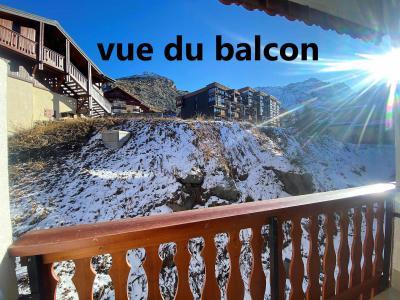 Holiday in mountain resort Studio 2 people (319) - Résidence les Hauts de la Vanoise - Val Thorens