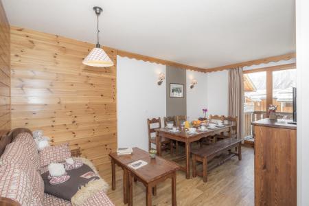 Urlaub in den Bergen Résidence les Hauts de Préclaux - Les Orres - Wohnzimmer