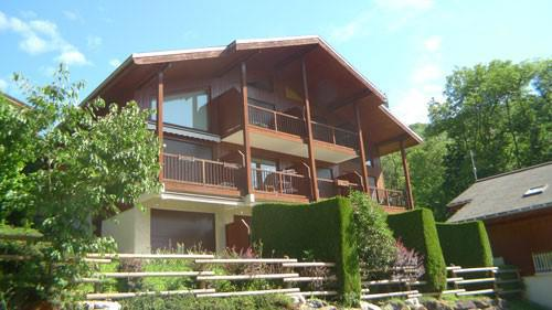 Rent in ski resort Studio mezzanine 6 people (3P11) - Résidence les Hauts de Trainant - Samoëns - Summer outside