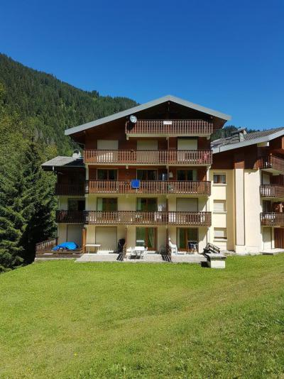 Rent in ski resort 2 room apartment 5 people (IRI006) - Résidence les Iris - Châtel - Summer outside