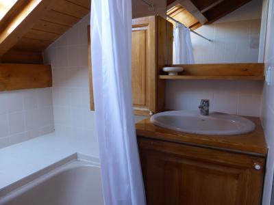 Urlaub in den Bergen 3-Zimmer-Berghütte für 8 Personen (105) - Résidence les Jardins Alpins - Saint Gervais - Badewanne