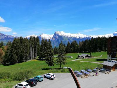Location au ski Résidence les Jardins Alpins - Morillon - Extérieur été