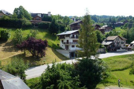 Rent in ski resort 3 room apartment sleeping corner 8 people (105) - Résidence les Jardins Alpins - Saint Gervais - Summer outside