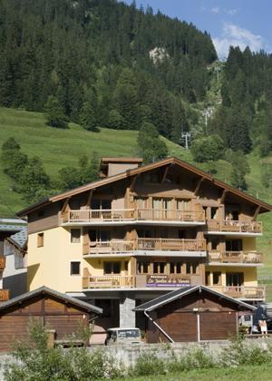 Location au ski Residence Les Jardins De La Vanoise - Pralognan - Extérieur été