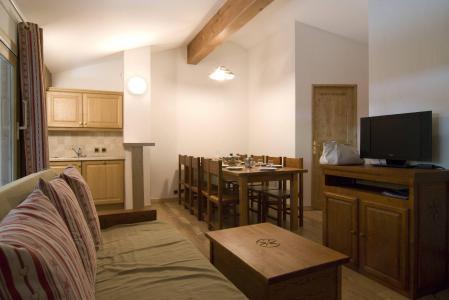 Holiday in mountain resort Résidence les Jardins de la Vanoise - Pralognan-la-Vanoise - Living room