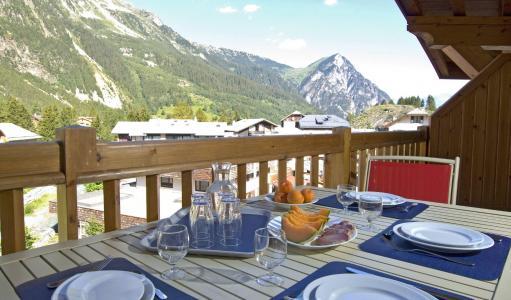 Urlaub in den Bergen Résidence les Jardins de la Vanoise - Pralognan-la-Vanoise - Terrasse