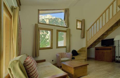 Urlaub in den Bergen Résidence les Jardins de la Vanoise - Pralognan-la-Vanoise - Wohnzimmer