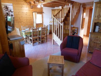 Vacances en montagne Appartement duplex 2 pièces 6 personnes (FLOR6) - Résidence les Lapons - Les Contamines-Montjoie - Banquette