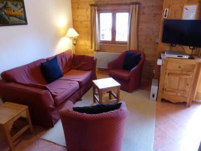 Vacances en montagne Appartement duplex 2 pièces 6 personnes (FLOR6) - Résidence les Lapons - Les Contamines-Montjoie - Séjour