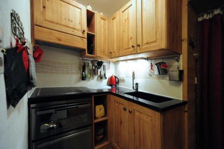 Vacances en montagne Appartement 2 pièces 5 personnes (D3) - Résidence les Lauzes - Les Menuires - Kitchenette