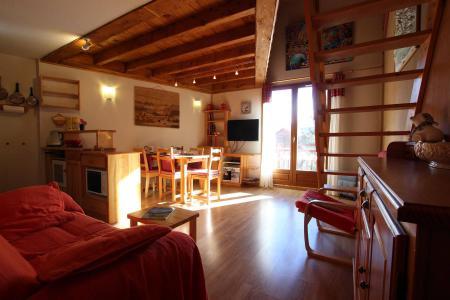 Vacances en montagne Appartement duplex 4 pièces 6 personnes (A11) - Résidence Les Lauzières - Pelvoux - Séjour