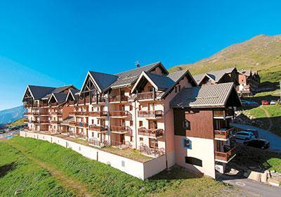 Location au ski Residence Les Lumieres Des Neiges - Valmeinier - Extérieur été