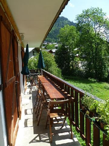 Vacances en montagne Appartement 3 pièces coin montagne 6 personnes (MAR001) - Résidence les Marguerites - Châtel - Balcon
