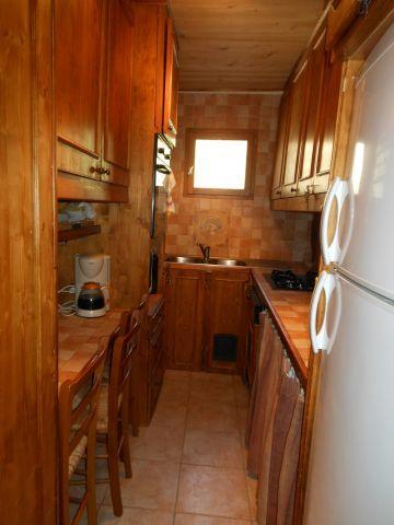 Vacances en montagne Appartement 3 pièces coin montagne 6 personnes (MAR001) - Résidence les Marguerites - Châtel - Kitchenette