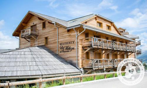 Аренда на лыжном курорте Résidence les Mélèzes - Maeva Home - La Joue du Loup - летом под открытым небом