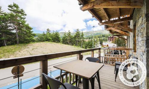 Аренда на лыжном курорте Апартаменты 4 комнат 8 чел. (Sélection 72m²-1) - Résidence les Mélèzes - Maeva Home - La Joue du Loup - летом под открытым небом