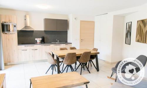 Аренда на лыжном курорте Апартаменты 4 комнат 8 чел. (Sélection 73m²) - Résidence les Mélèzes - Maeva Home - La Joue du Loup - летом под открытым небом