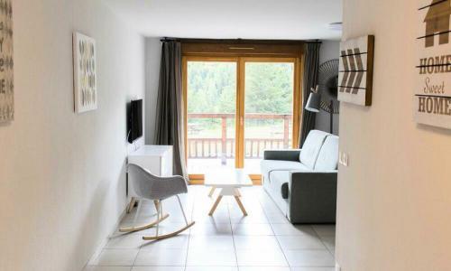 Аренда на лыжном курорте Апартаменты 2 комнат 6 чел. (Sélection 72m²-1) - Résidence les Mélèzes - Maeva Home - La Joue du Loup - летом под открытым небом