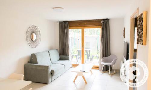 Аренда на лыжном курорте Апартаменты 3 комнат 6 чел. (Sélection 45m²) - Résidence les Mélèzes - Maeva Home - La Joue du Loup - летом под открытым небом