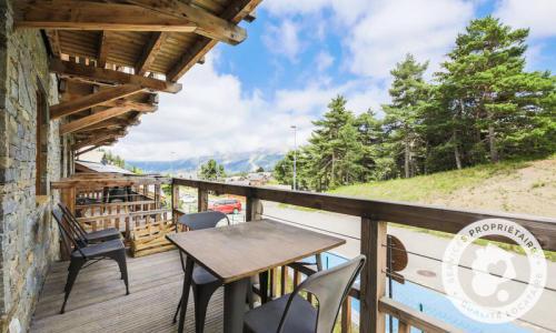 Аренда на лыжном курорте Квартира студия для 4 чел. (Sélection 35m²-1) - Résidence les Mélèzes - Maeva Home - La Joue du Loup - летом под открытым небом