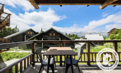 Аренда на лыжном курорте Квартира студия для 4 чел. (Sélection 32m²-1) - Résidence les Mélèzes - Maeva Home - La Joue du Loup - летом под открытым небом