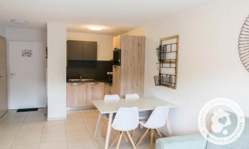 Аренда на лыжном курорте Апартаменты 2 комнат 4 чел. (Sélection 35m²-1) - Résidence les Mélèzes - Maeva Home - La Joue du Loup - летом под открытым небом