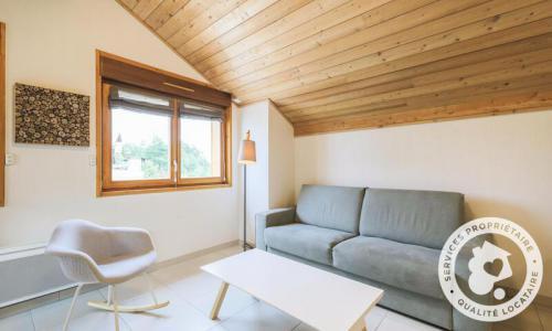 Аренда на лыжном курорте Апартаменты 3 комнат 6 чел. (Sélection -3) - Résidence les Mélèzes - Maeva Home - La Joue du Loup - летом под открытым небом