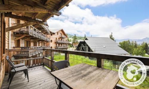 Аренда на лыжном курорте Апартаменты 2 комнат 4 чел. (Sélection -1) - Résidence les Mélèzes - Maeva Home - La Joue du Loup - летом под открытым небом