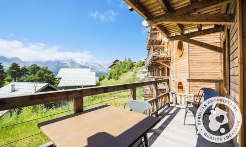 Аренда на лыжном курорте Квартира студия для 4 чел. (Sélection -1) - Résidence les Mélèzes - Maeva Home - La Joue du Loup - летом под открытым небом