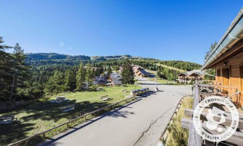 Аренда на лыжном курорте Апартаменты 2 комнат 4 чел. (Sélection 35m²-2) - Résidence les Mélèzes - Maeva Home - La Joue du Loup - летом под открытым небом