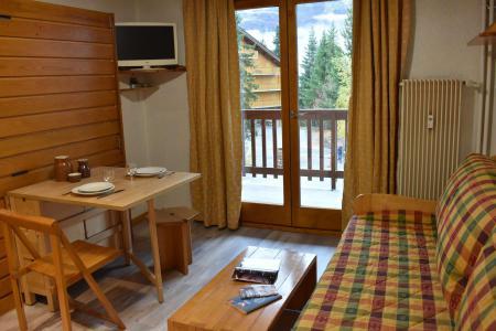 Vacances en montagne Studio 2 personnes (A08) - Résidence les Merisiers - Méribel - Banquette-lit tiroir