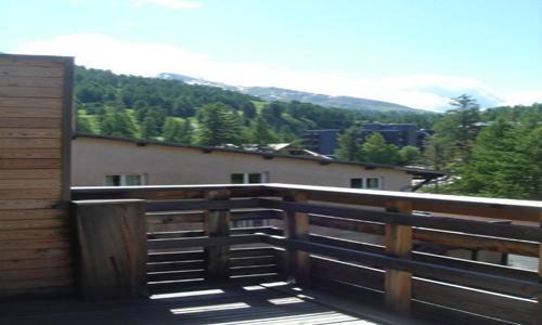 Rent in ski resort 2 room apartment 4 people (U003) - Résidence les Myrtilles - Vars - Summer outside