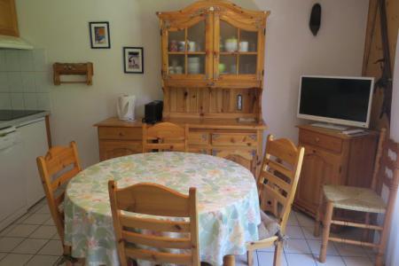 Vacances en montagne Appartement 3 pièces 5 personnes (18) - Résidence les Myrtilles - Châtel - Table