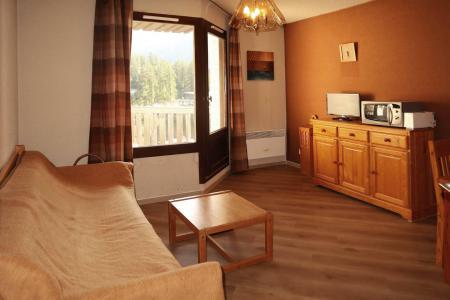 Holiday in mountain resort Studio sleeping corner 4 people (199) - Résidence les Orrianes des Cîmes - Les Orres
