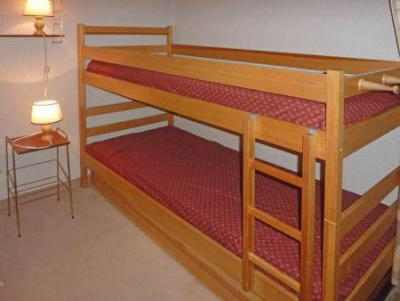 Holiday in mountain resort Studio sleeping corner 4 people (185) - Résidence les Orrianes des Cîmes - Les Orres - Bunk beds