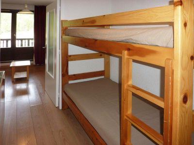 Holiday in mountain resort Studio sleeping corner 4 people (194) - Résidence les Orrianes des Cîmes - Les Orres - Bunk beds