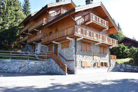 Location au ski Résidence les Perdrix - Méribel - Extérieur été