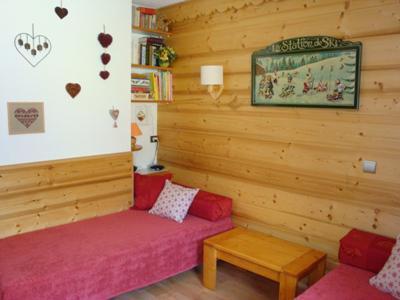 Vacances en montagne Studio 4 personnes (041) - Résidence les Pierres Plates - Valmorel