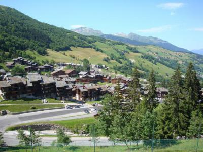 Vacances en montagne Appartement 3 pièces 7 personnes (054) - Résidence les Pierres Plates - Valmorel - Extérieur été