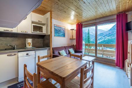 Vacances en montagne Appartement 2 pièces 4 personnes (004) - Résidence les Plattières - Méribel-Mottaret - Logement