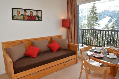 Vacances en montagne Résidence les Pléiades - Flaine - Banquette-lit