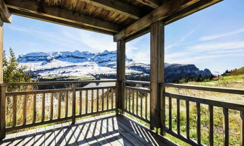 Wakacje w górach Apartament 2 pokojowy 4 osób (Prestige 41m²) - Résidence les Portes du Grand Massif - Maeva Home - Flaine - Na zewnątrz latem