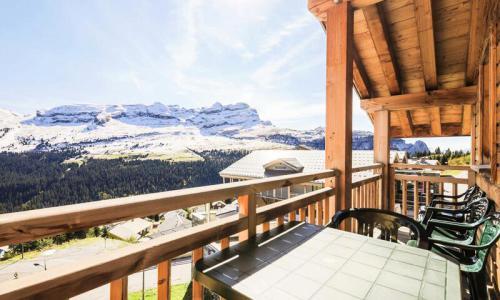 Wakacje w górach Apartament 3 pokojowy 6 osób (Prestige 55m²-2) - Résidence les Portes du Grand Massif - Maeva Home - Flaine - Na zewnątrz latem