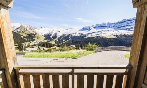 Wakacje w górach Apartament 2 pokojowy 4 osób (Prestige 41m²-1) - Résidence les Portes du Grand Massif - Maeva Home - Flaine - Na zewnątrz latem