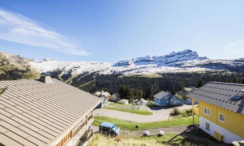 Wakacje w górach Apartament 4 pokojowy 8 osób (Prestige 71m²-1) - Résidence les Portes du Grand Massif - Maeva Home - Flaine - Na zewnątrz latem
